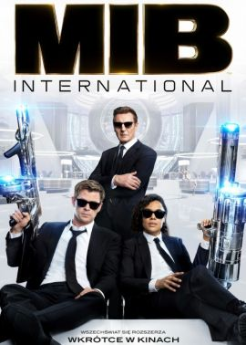 Plakat filmu Men in Black International