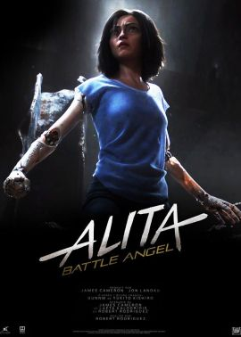 Plakat filmu Alita: Battle Angel 3D napisy