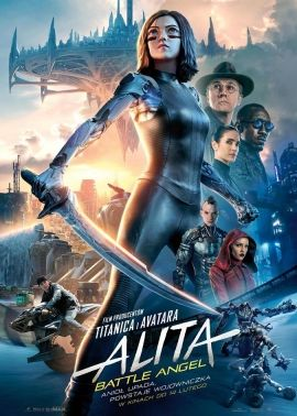 Plakat filmu Alita: Battle Angel 2D dubbing
