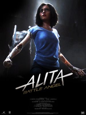 Alita: Battle Angel 2D dubbing plakat
