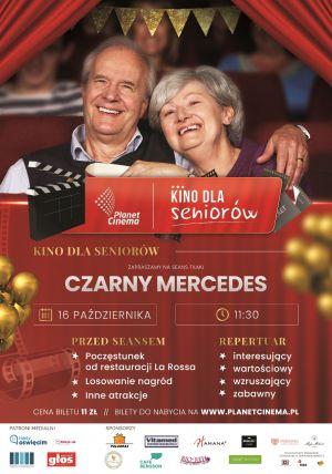 Czarny Mercedes - Kino dla Seniorów plakat