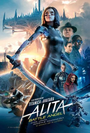 Alita: Battle Angel (3D, napisy) plakat